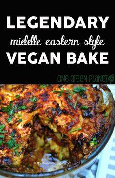 Legendary Middle Eastern Style Vegan Bake #vegan #recipe #delicious http://onegr.pl/1pMym8v