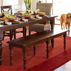 Elegant turned legs make our spacious Torrance collection a real head-turner.