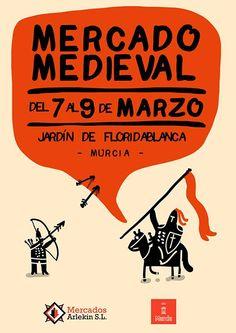 Mercado Medieval en Murcia, del 7 al 9 de marzo