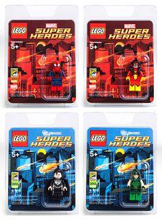 LEGO Super Heroes Mini Figs 2013 Comicon