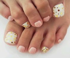 38 ideas spring pedicure colors polka dots for 2019 Pedicure Colors, Pedicure Nail Art, Pedicure Designs, Toe Nail Designs, Toe Nail Art, Pedicure Ideas, Beach Pedicure, Art Designs, Polka Dot Pedicure