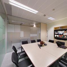 Sala de videoconferencia. CINC, Centro de negocios en Barcelona.