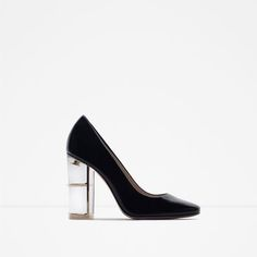 ZARA - WOMAN - COURT SHOES WITH HEEL DETAIL