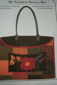 My Favorite Sewing Bag Pattern By Lynne Hagmeier of Kansas