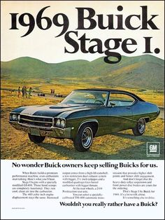 1969 Buick GS400 Stage I