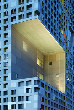 Simmons Hall, Massachusetts Institute of Technology, Cambridge, US by Steven Holl Arhitects