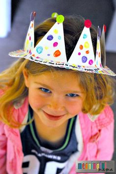 It is easy to make a paper plate crown with kids. The cost is right also! We made this particular crown for another contribution to my AWANA Cubbies Series.