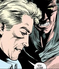 J.C. vs. The Big D. Hellblazer, vol. 6: Bloodlines. Writer Garth Ennis. Pencils William Simpson. Inks Mike Barreiro.