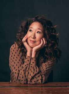"""Sandra Oh discussed the possibility that she might return to """"Grey's Anatomy"""" as Cristina Yang. Sandra Oh, Cristina Yang, Meredith Grey, Toronto Film Festival, Jodie Comer, Film Serie, Belle Photo, Pretty People, Beautiful People"""