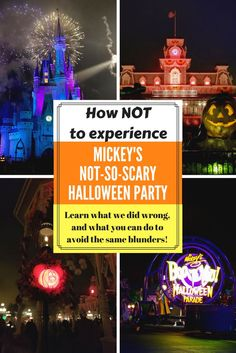 Thinking about attending Disney World Mickey's Not-So-Scary Halloween Party? Well, we did and we almost had a HORRIBLE time!!