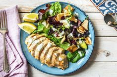 Greek Chicken with Lebanese Bread Salad Recipe | HelloFresh