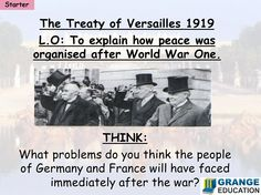 Differentiated tasks on the outcomes of the Treaty of Versailles after the First World War. World War One, First World, 8th Grade History, 7th Grade Social Studies, Treaty Of Versailles, History Classroom, Teaching Resources, Teaching Ideas, Fifth Grade