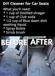 DIY Cleaner For Car