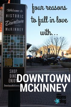 The charming square in downtown McKinney is perfect for your next outing, no matter who you are with! It's your next family day, date night, staycation or girls day spot!