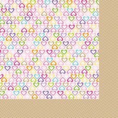 Bella Blvd - Baby Girl Collection - 12 x 12 Double Sided Paper - Daddy's Girl at Scrapbook.com $1.09
