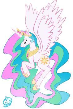 My Little Pony Friendship is Magic (Princess Celestia)