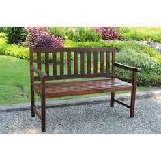 Target - Highland 4' Wood Patio Bench
