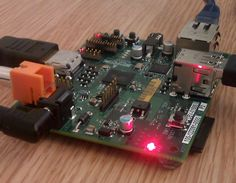 Raspberry Pi computer is just a small green circuit. ~ Mytechcrush