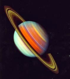 """humanoidhistory: """" Images of the planet Saturn, captured by the Voyager 2 space probe, (NASA) """" Planet Pictures, Saturn Tattoo, Planet Project, Solar System Projects, Saturn Planet, Space Artwork, Space Space, Space Probe, Planet Tattoos"""
