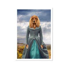 Demelza (Poldark Inspired): Custom Pet Poster - A2 Portrait