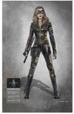 Laurel Lance Black Canary Laurel's new Black Canary Costume (Arrow Season can find Black canary and more on our website. Superhero Suits, Superhero Design, Female Superhero, Superhero Movies, Super Hero Outfits, Super Hero Costumes, Elin Kling, Black Canary Costume, Solgaleo Pokemon