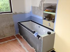 Bathroom in the process of being done by one of our experienced fitters. 'During Stage' Bathroom Fitters, Bathroom Installation, Stage, Bathtub, Standing Bath, Bath Tub, Bathtubs, Scene, Tub