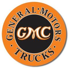GMC Trucks Tin Sign, $8.95