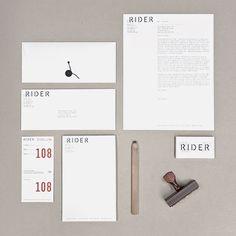 Josh Finklea, Rider identity    -unusual letterhead layout