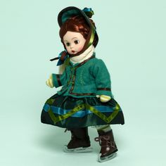 Madame Alexander Little Women Meg Goes Ice Skating 8-inch Collectible Doll - Little Women