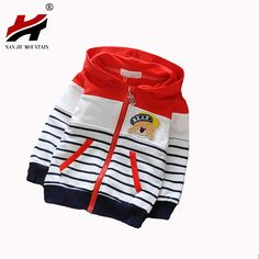 2017 New Spring Autumn Kids Hoodies Coats Boys Sweatshirts Sport Baby Boy Hoodies Childrens Girls Blouse Outerwear Baby Outfits, Little Boy Outfits, Toddler Outfits, Kids Outfits, Baby Boy Fashion, Toddler Fashion, Kids Fashion, Baby Suit, Girls Blouse