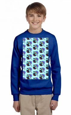 Pug swag Youth Sweatshirt