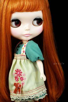 Blythe Dear Lele Girl