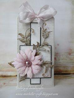 Gallery of handicrafts: ... delikatna kartka