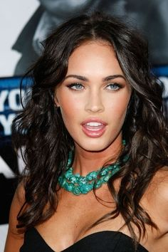Megan Fox Inspired Turquoise Gemstone Necklace. $45.00, via Etsy.