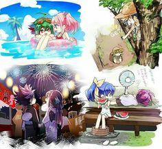 Yuya's and Yuzu's