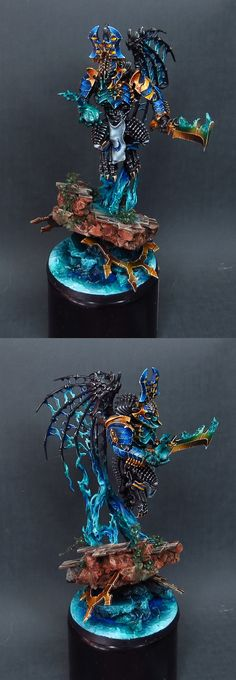 Morghast Archai přeměněn na CSM Thousand Sons Daemon Prince vol 2