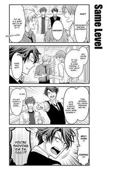 Gekkan Shoujo Nozaki-Kun 57 Page 5....x'D