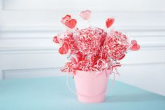 White Chocolate & Sprinkles Large Marshmallow Bouquet