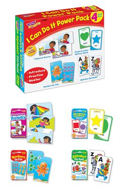 Have fun with four games in this power pack T-24901 - I Can Do de210fec2d