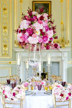 Divine Dining Fit for a Deity | Paula Rooney Weddings & Events