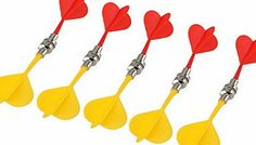 NUOLUX 10pcs Safe Replacement Magnetic Darts Plastic Wing Target Game Toys (Red Yellow) No description (Barcode EAN = 0190164814787). http://www.comparestoreprices.co.uk/december-2016-week-1/nuolux-10pcs-safe-replacement-magnetic-darts-plastic-wing-target-game-toys-red yellow-.asp