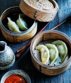 Jade Prawn Dumplings Recipe | Gourmet Traveller #prawns #shrimp #dumplings #Chinese_recipes #seafood