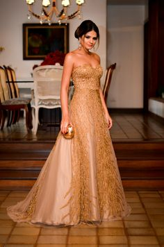 Zuhair Murad Inspired by Dina Barcelos worn by Thassia Naves
