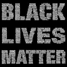 """Our culture already knows that white lives matter, but African-Americans still experience racism, and being treated as if their lives don't matter or don't matter as much as white lives. That is why it is important to say, """"Black Lives Matter"""", bc our culture needs to change."""