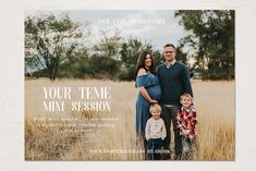 Mini Session Template by TheSeventhDesire on Social Media Template, Social Media Design, Photoshop Program, Photography Mini Sessions, Photo Collage Template, Right To Privacy, Wonder Woman Logo, Font Names, Photography Marketing