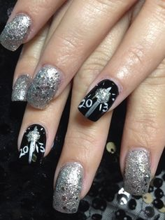 70 Stunning Glitter Nail Designs Prom nails
