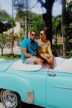 Queen B and jay zed