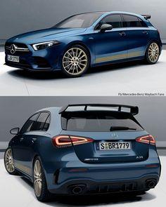 Mercedes A Class, Mercedes Benz, Classe A Amg, Hatchback Cars, Motorcycle Bike, Nice Cars, Sport Cars, Bugatti, Luxury Cars