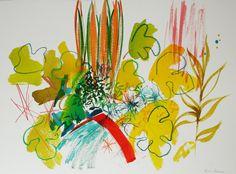 New Garden Paintings « Tessa Pearson
