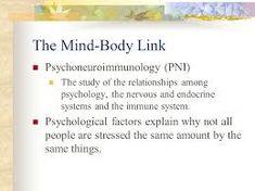 Resultado de imagen para psychoneuroimmunology